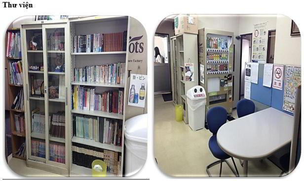 Thư viện trường nhật ngữ Ken