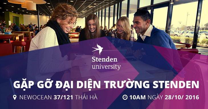 Gặp gỡ Trường Đại học Khoa học ứng dụng Stenden, Hà Lan