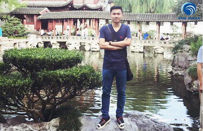 Hoàng Quý Phúc nhận visa du học Trung Quốc trường Đại học Thượng Hải