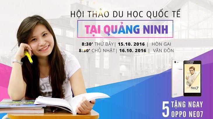 Hội thảo du học quốc tế 2016 cùng New Ocean tại Quảng Ninh