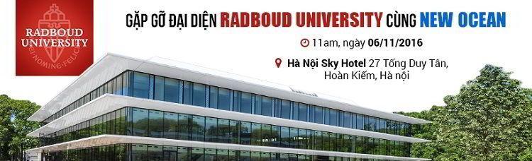 Gặp gỡ Trường Đại học Nghiên cứu Radboud, Hà Lan