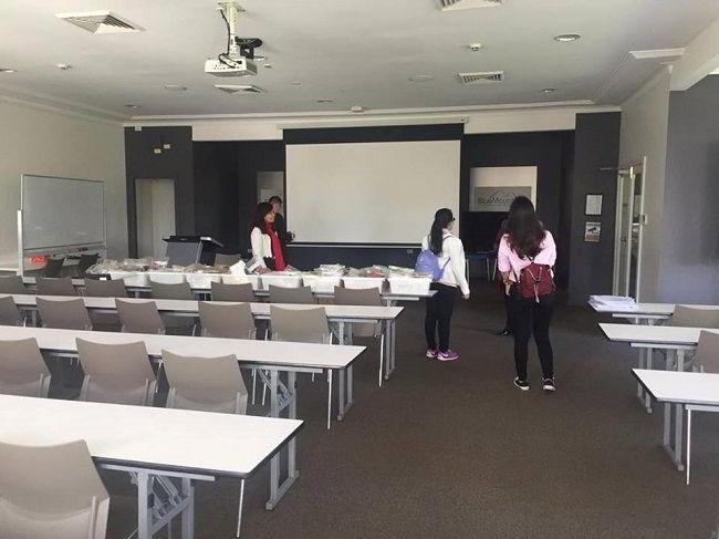 Phòng học tại Blue Mountains Leura Campus