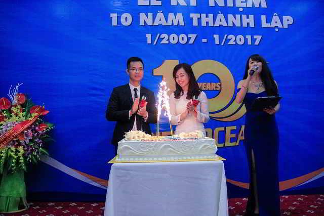 Lễ kỷ niệm 10 năm ngày thành lập New Ocean diễn ra thành công tốt đẹp