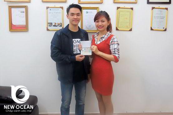 Nguyễn Đình Thành nhận visa du học Hà Lan, kết quả như mong đợi