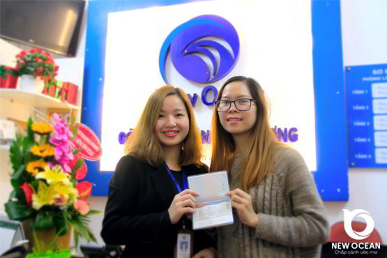 Visa du học Hàn Quốc - Hoàng Thị Dung