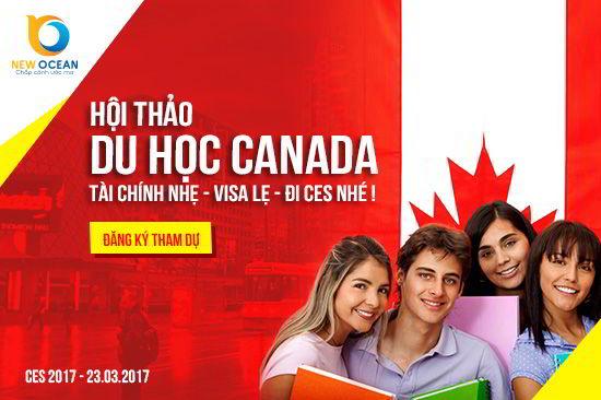 Hội thảo du học Canada 'TÀI CHÍNH NHẸ – VISA LẸ – ĐI CES NHÉ'