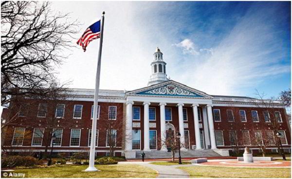 Đại học Harvard tiếp tục là trường đại học đào tạo tài chính kế toán hàng đầu thế giới năm 2017.