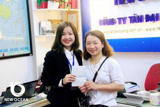Chúc mừng Võ Thị Phương Bảo nhận visa du học Hàn Quốc