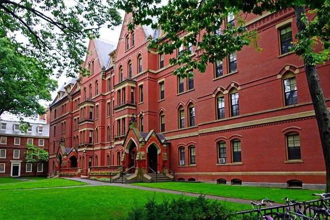 Đại học Harvard tiếp tục là trường đại học đào tạo tài chính kế toán hàng đầu thế giới năm 2017
