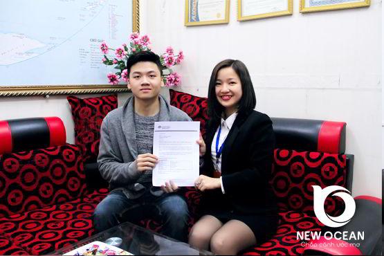 Chúc mừng bạn Lê Sơn nhận visa du học úc, tất cả vì đam mê :)