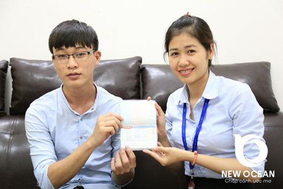 Chúc mừng Nguyễn Đức Doan nhận visa du học Hàn Quốc