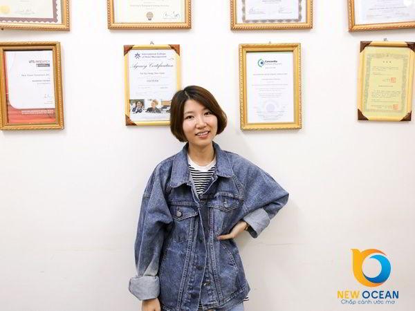 """Chúc mừng Bùi Thị Lâm nhận visa du học Hàn Quốc """"Con đường dẫn đến thành công luôn luôn đang được xây dựng."""""""
