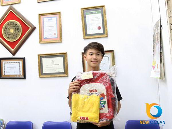 Chúc mừng Phan Viết Hoàng nhận visa du học hè Singapore Lion Island 2017