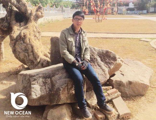 Chúc mừng chàng trai thân thiện Đinh Văn Bảy được nhận Visa du học Hàn Quốc trường Halym.