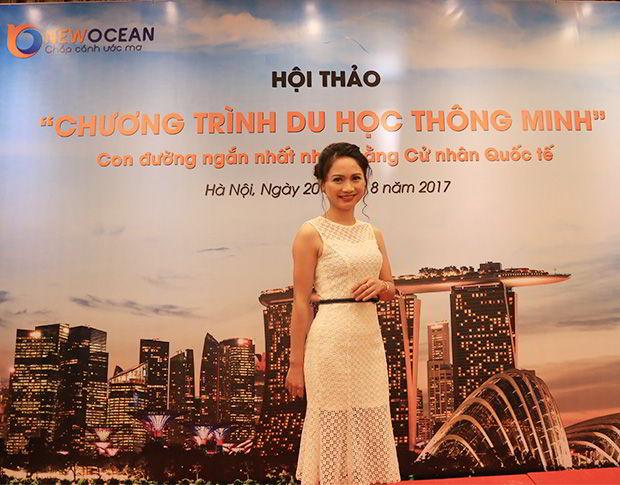 Chị Phạm Nguyên Ly – Chuyên viên tư vấn cao cấp của New Ocean chia sẻ về chương trình Du học Thông minh