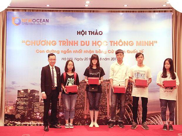 Hội thảo Chương trình Du học Thông minh thu hút đông đảo phụ huynh và các bạn học sinh Hà Nội