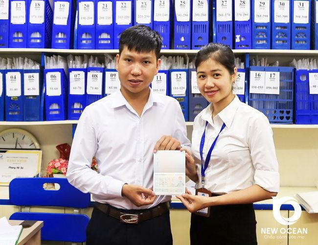 Visa du học Trung Quốc Trần Ngọc Hoàng