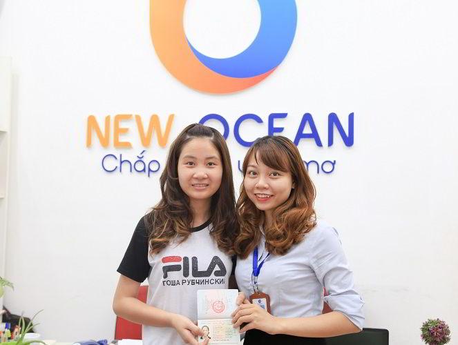 Chúc mừng Vũ Thị Vân Anh nhận visa du học Trung Quốc khóa tiếng kỳ tháng 9-2017