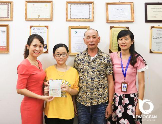 Trần Thị Thu Uyên nhận visa CES - Canada nơi lý tưởng để tôi nghiên cứu và trải nghiệm cuộc sống