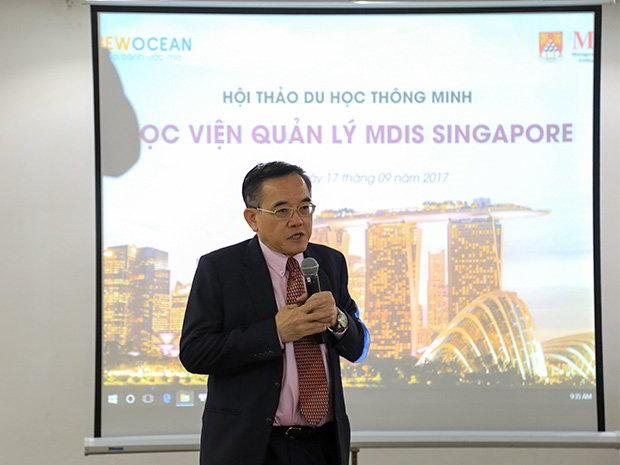 Dr. Eric Kuan - Hiệu trường nhà trường MDIS Singapore.