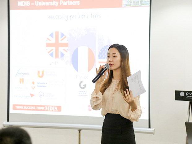 Ms. Maya - Đại diện tuyển sinh của trường tại Việt Nam.