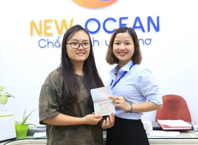 Chúc mừng Phạm Thị Quỳnh Nga nhận visa du học Canada, chương trình CES