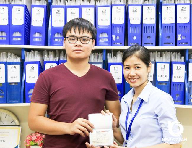 Chúc mừng Visa du học Canada CES, Trần Hoàng Nam