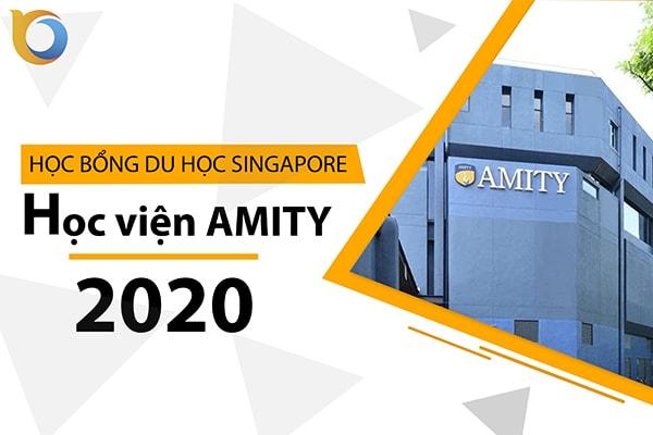 Học bổng Học viện Amity Singapore