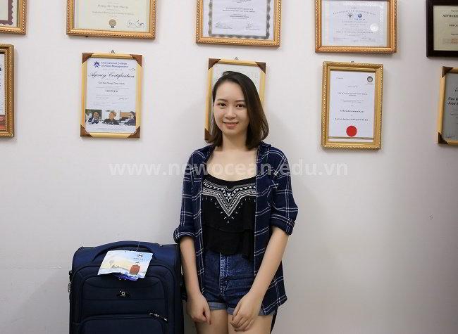Chúc mừng Phan Ngọc Trang nhận visa du học Singapore trường MDIS