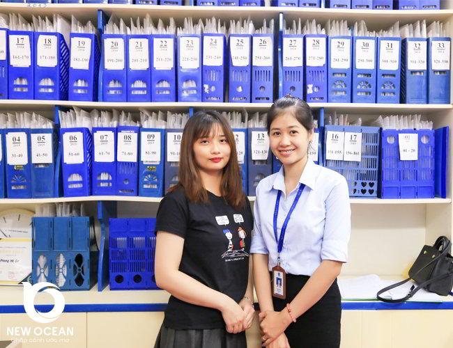 Hot Girl Vũ Thị Hoài nhận visa du học Hàn Quốc trường đại học Dongguk