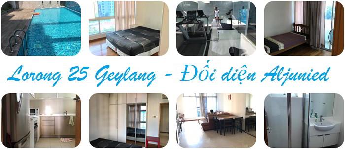 Lorong 25 Geylang Address: Đối diện Aljunied MRT