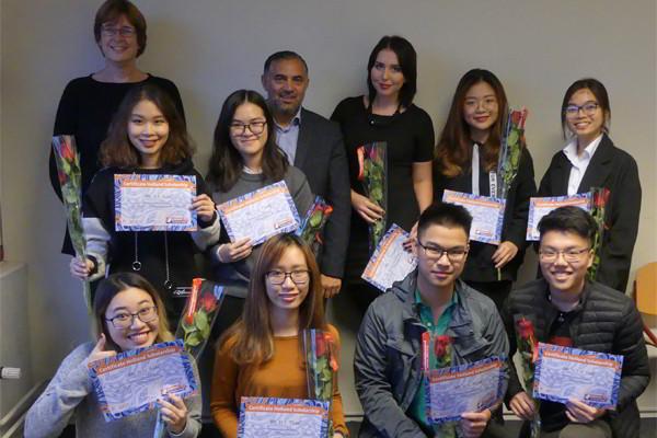 Học sinh New Ocean nhận học bổng Holland Scholarship 2017