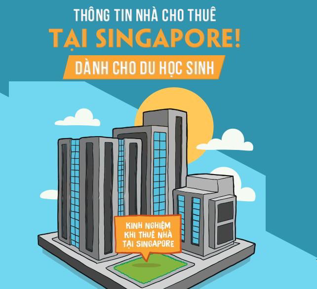 Thông tin nhà trọ cho thuê và sắp xếp đưa đón dành cho sinh viên du học Singap