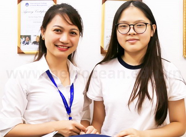 Nguyễn Lê Cẩm Anh nhận visa du học Singapore trường MDIS tuổi 15