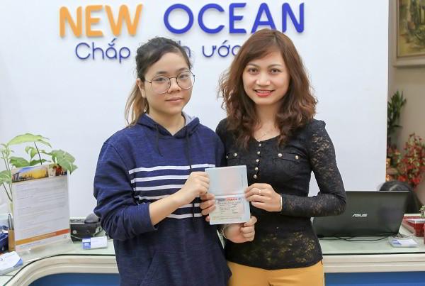 Chúc mừng Hoàng Minh Huyền nhận visa du học Canada trường Langara College