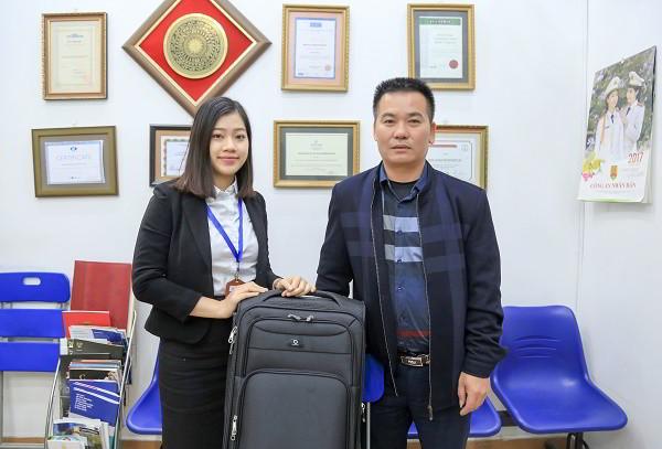 Chúc mừng Hoàng Ngọc Hà nhận visa du học Canada kỳ tháng 1, Tết đầu tiên xa nhà