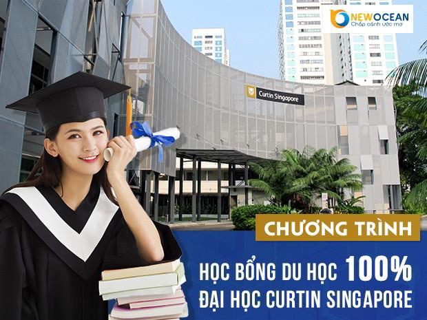 (Chương trình học bổng du học 100% đại học Curtin Singapore 2018)