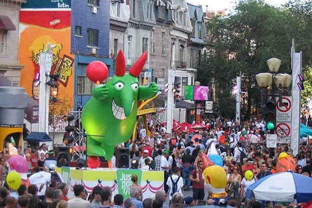 Lễ hội hài kịch tại Montreal