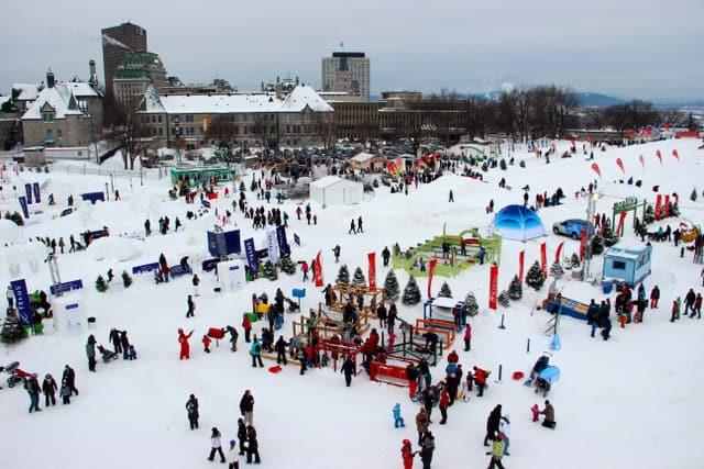 Lễ hội mùa đông tại Quebec – Quebec Winter Carnival