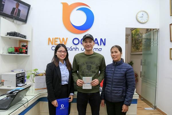 Trần Văn Nam nhận visa du học hàn quốc đại học Hallym