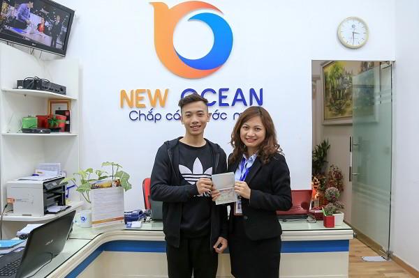Chúc mừng Phạm Đức Chính nhận visa du học Canada 2018 - New Ocean chắp cánh ước mơ!