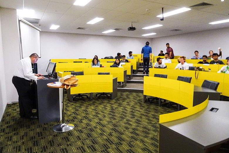 những phòng học của SP Jain đều được trang bị hiện đại, phục vụ tốt cho nhu cầu dạy và học