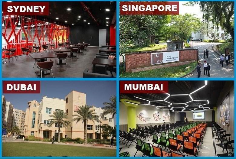 Môi trường học tập của SP Jain được đánh giá đứng đầu thế giới