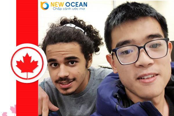Vũ Tuấn Hiển nhận visa du học Canada - Có công mài sắt có ngày nên kim