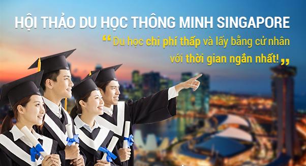 Du học Thông Minh tại Singapore – Sự lựa chọn sáng suốt