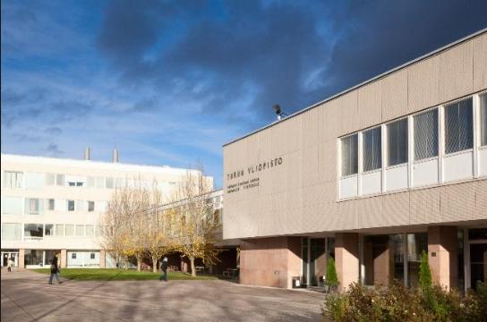 Cảnh quan của trường Đại học Turku - Một trong những trường điểm tại Phần Lan