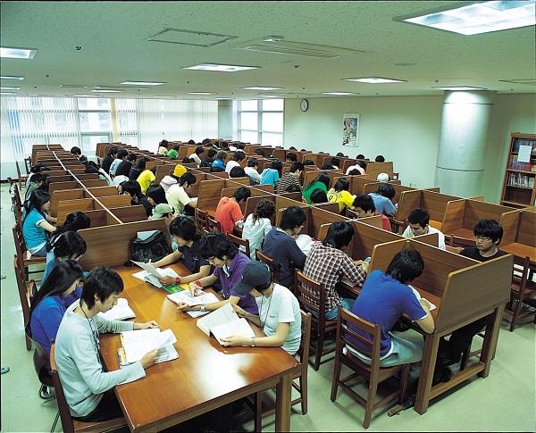 Thư viện của trường Đại học Joongbu