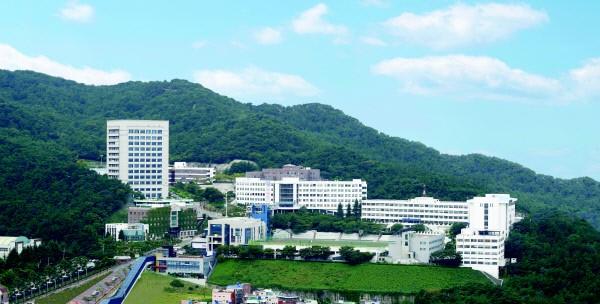 Toàn cảnh trường đại học khoa học công nghệ Busan