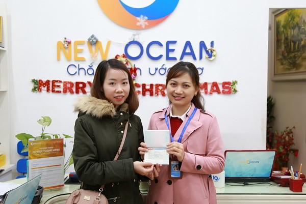Visa du học Hàn Quốc Trần Thị Thu Uyên