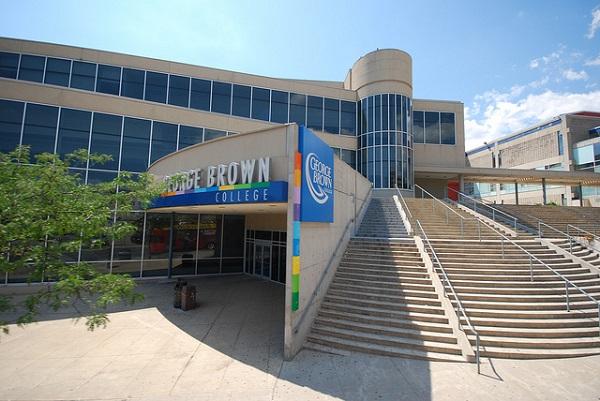 Trường George Brown College tại thành phố Toronto